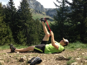 montagne ischio etirement entrainement trail ski alpi coach séance