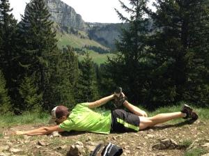 quadriceps etirement entrainement trail ski alpi coach séance