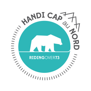 Logo de du projet Handi Cap au Nord de l'association Riding Over 73
