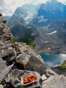 gulabox graines aiguille vanoise alpinisme rocher nourriture test