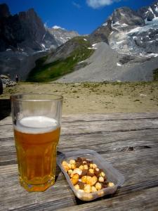 vanoise alpi recupération graines fruits secs séchés montagne nourriture test avis