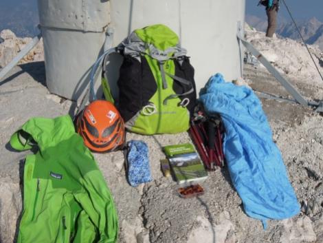 panorama triglav sommet summit slovenie randonnée vacances sac choix montagne