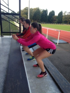 séance escalier entrainement sportif coach sport quadriceps
