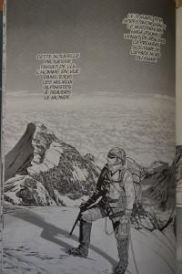 livre montagne japon bande dessinée alpinisme