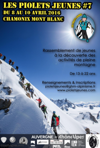 Piolet jeunes alpinisme alpinistes montagne Chamonix haute montagne actualité http://pasquedescollants.wordpress.com