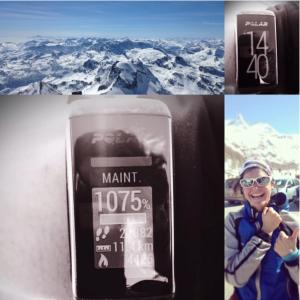 polar A360 montre connectée sport fit compteur d'activité outdoor