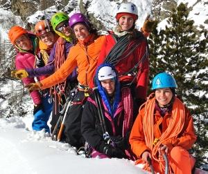 Interview de Marion poitevin / www.pasquedescollants.com/entrainement préparation physique sport montagne alpinisme féminin pour discuter entrainement et préparation physique.