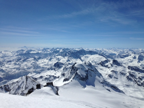 Grand paradis ski rando alpinisme montane italie / On n'est pas que des collants