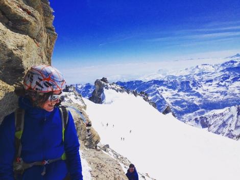 Grand paradis journée ski rando alpinisme montane italie / On n'est pas que des collants