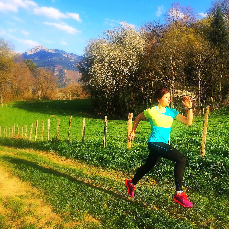 femina race premier trail entrainement préparation running