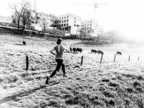 premier trail entrainement fille femina race course à pied running