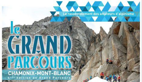 affiche grand parcours alpinisme chamonix